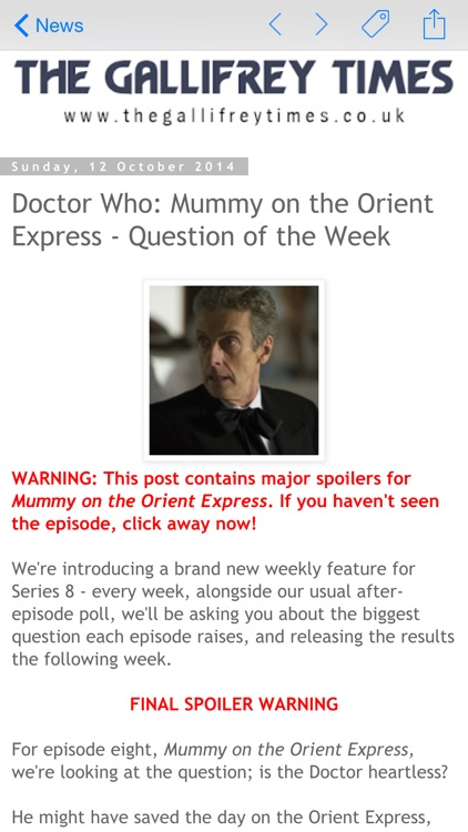 DW WhoNews for Doctor Who screenshot-4