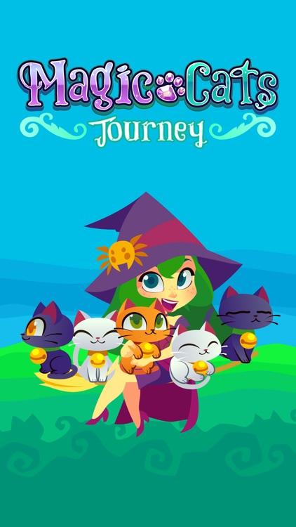 Magic Cats Journey - Arcade Match-3 Game screenshot-4