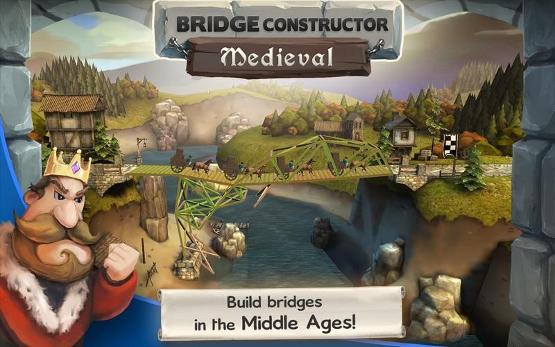 Screen Shot Bridge Constructor Medieval 0