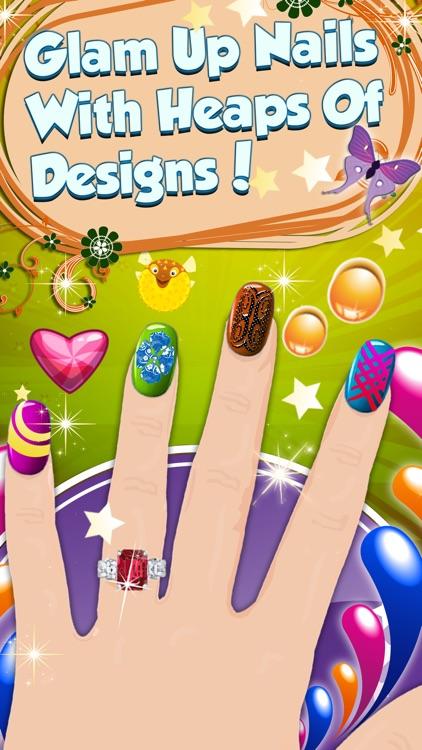 Mom Nail Salon - Little Princess Virtual Art Nails Salon For Girls and Women