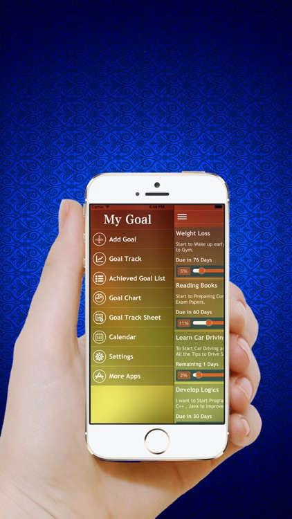 Goal Tracker - Track your Daily Habits,Tasks,Health,Dreams & set personal goals