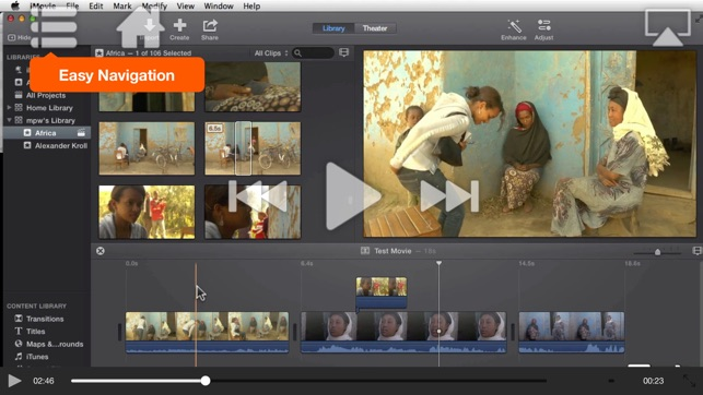 Course For iMovie - Trimming, Titles, Transitions & Trailers on the App  Store