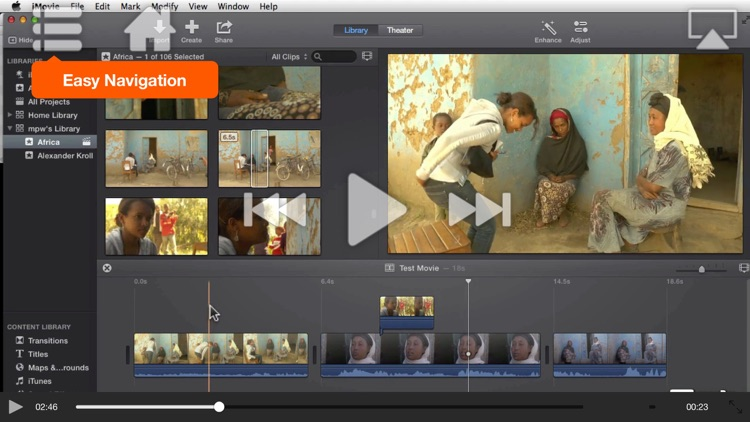 Course For iMovie - Trimming, Titles, Transitions & Trailers screenshot-4