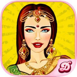 Indian Bride Dress Up-Fun Doll Makeover Game