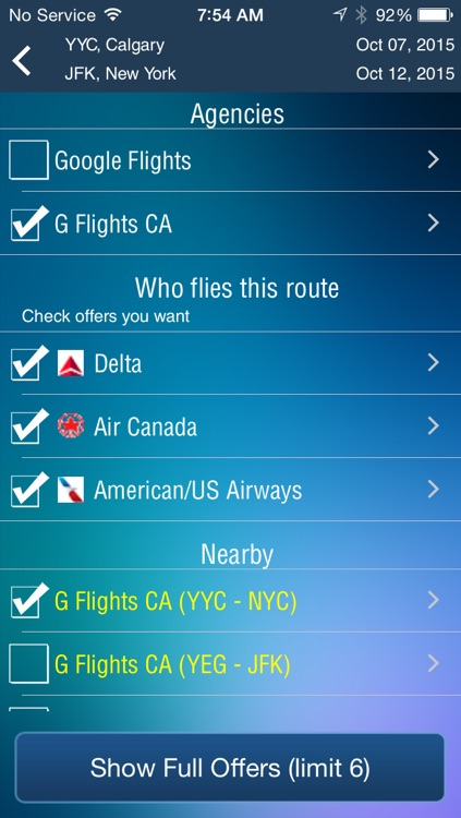 Calgary Airport Pro (YYC) Flight Tracker screenshot-3