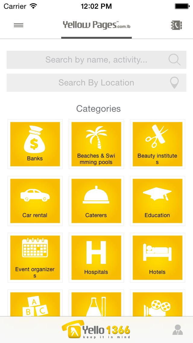 点击获取Yellow Pages ~ Lebanon