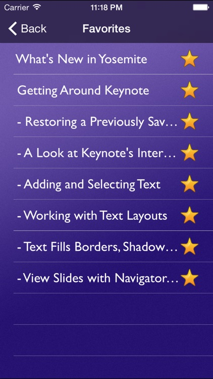 Tutor for Keynote for OS X screenshot-4