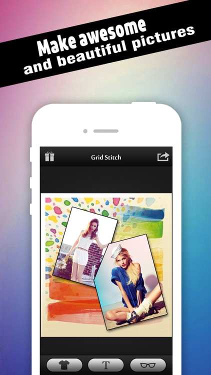 Photo Grid Stitch - Yr Collage Creator, Pic Frame Maker & Filter Effects Blender