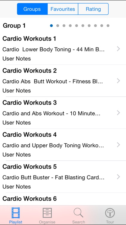100 Cardio Workouts