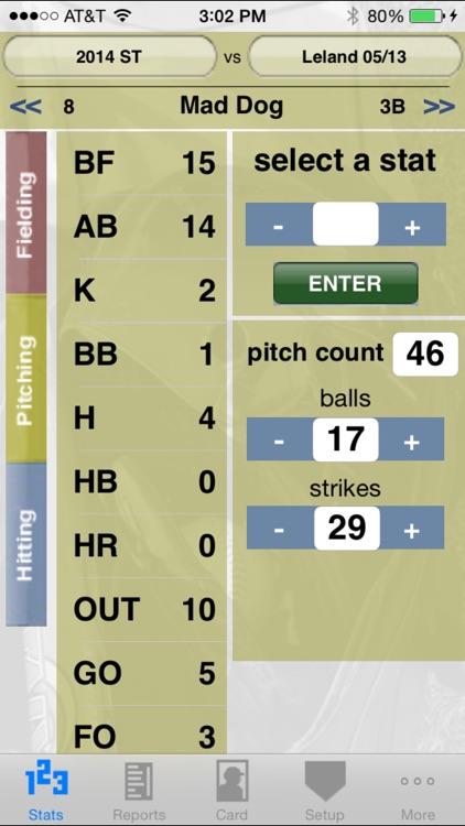 StatCatcher™ Softball (Player Edition)