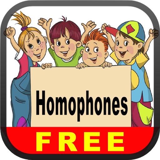 Homophones Free - English Language Art Grammar App