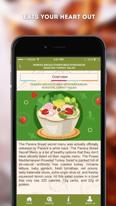 Secret Menu for Panera Bread | App Price Drops