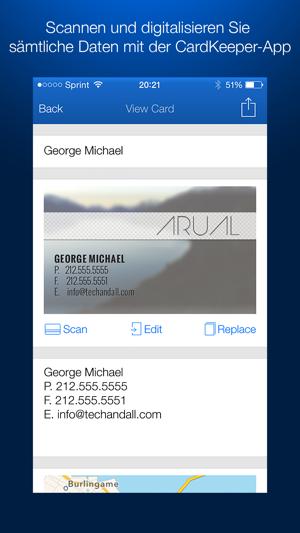 Cardkeeper App Im App Store