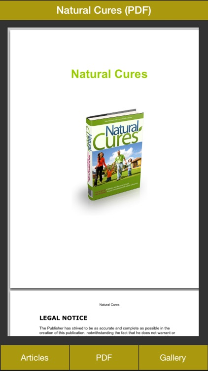Natural Cures - Learn How to Treat Diseases & Ailments Naturally Now screenshot-4