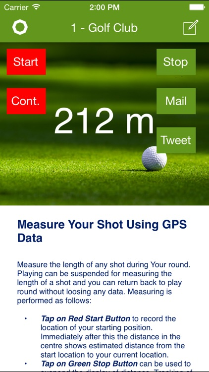 1-Golf Club : Customise GPS and ScoreCard App for You and Your Golf Club Members and Visitors