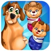 Mommy's Newborn Baby Pet Doctor Salon - my new puppy twins spa games!