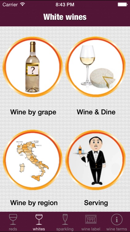 Wine basics and reference guide screenshot-4