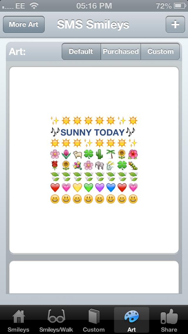 SMS Smileys iphone ekran görüntüleri