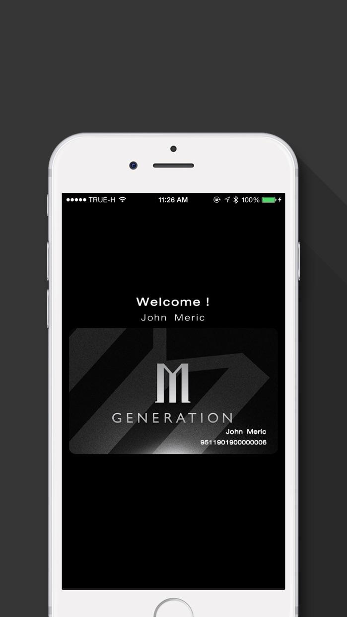 M GEN Card Screenshot