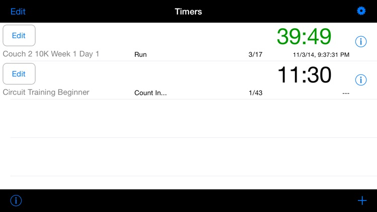 FlexiTimer Interval Timer (Running, HIIT, Circuits, Tabatas, Rounds, Weight Training etc.) screenshot-2