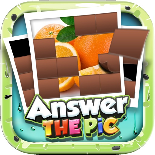 Answers The Pics : Fruits Trivia Picture Puzzle Reveal Games For Kids