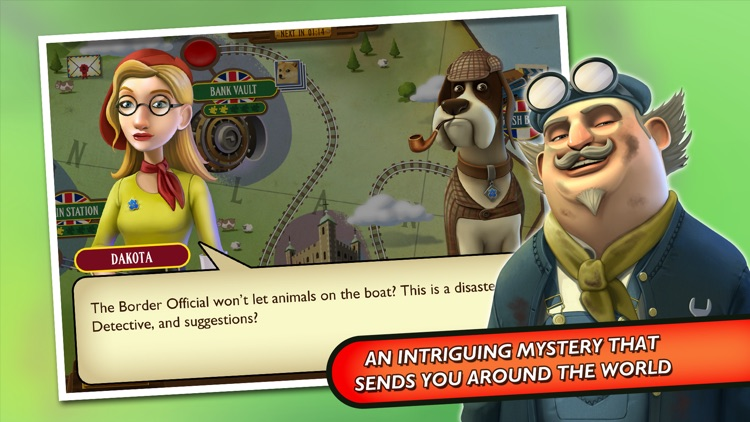 Enigma Express - A Hidden Object Mystery screenshot-2