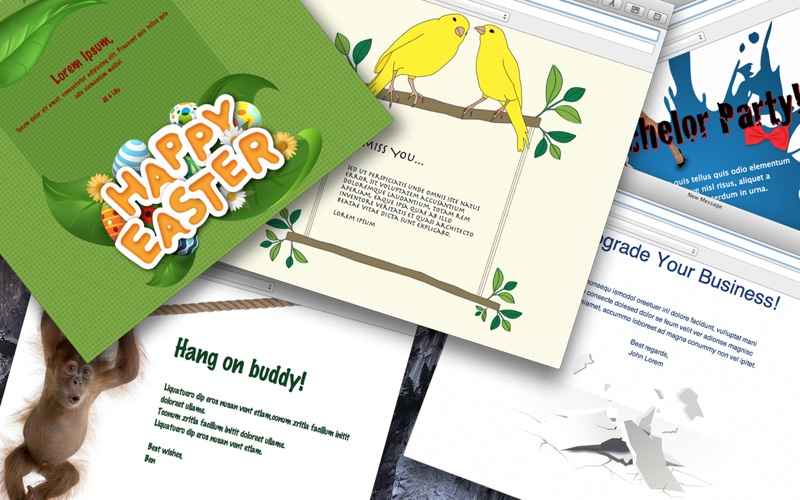 Stationery for Mail Screenshot