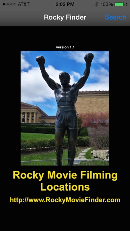 Rocky Finder: Movie Filming Locations