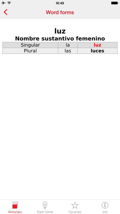 English - Spanish Berlitz Basic Talking Dictionary screenshot-4