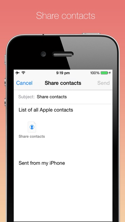 Multiple contacts delete screenshot-3