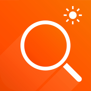 Magnifier Flash - A magnifying glass with light app