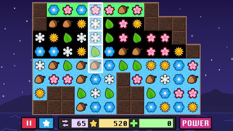 Matching in the Rain - A relaxing match 3 puzzle game screenshot-3