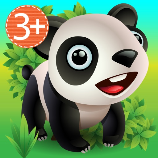 Zoo Explorer -  HugDug animals activity game for little kids.