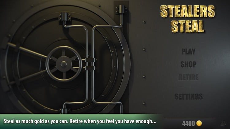 Stealers Steal: A thief's quest for gold
