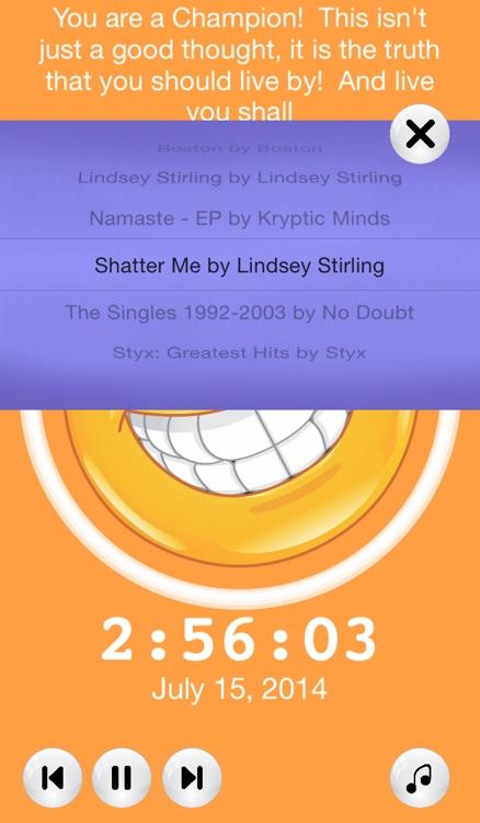 Happy Nightlight Music Player screenshot-4