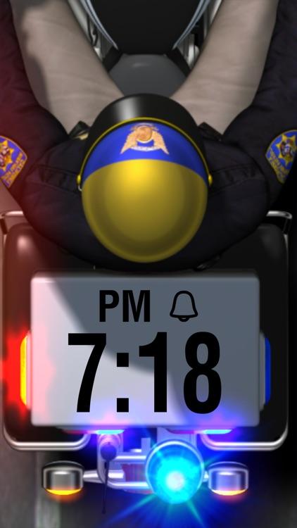 Motor Cop Alarm Clock