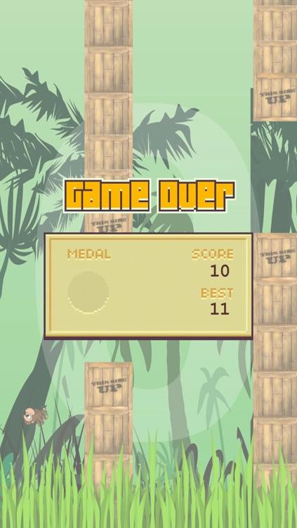 Flappy Ape Escape – Endless Jungle Adventure screenshot-3