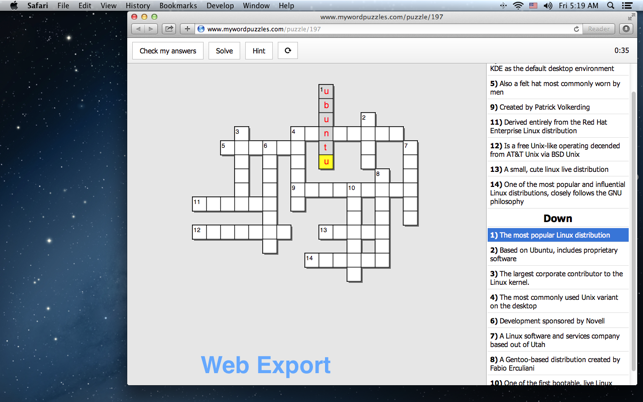 crossword puzzle maker download mac