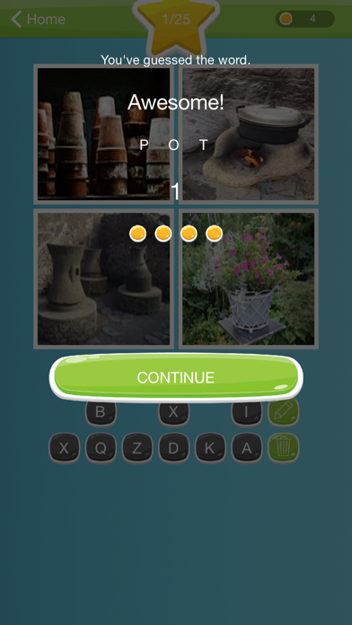 Guess the Word - Pics and Word FREE screenshot one