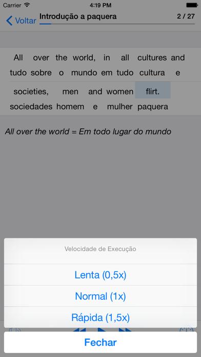 Inglês: Paquera, namoro e sexo screenshot four