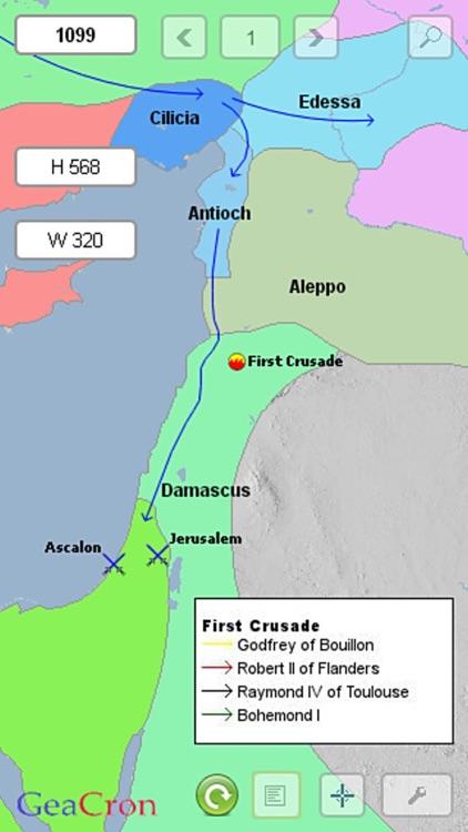 GeaCron History Maps screenshot-3