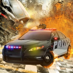 Cab Shooting racer cop Chase
