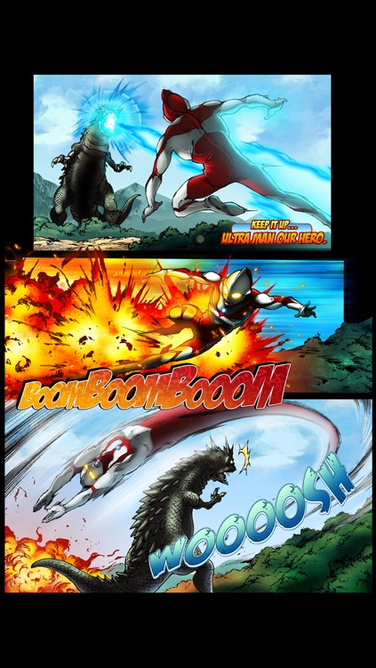 Ultraman Comic Ep.1 screenshot-3