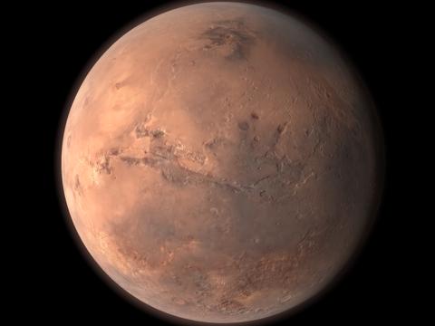 Mars Globe-ipad-4