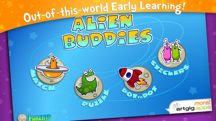 Alien Buddies – Preschool Learning Activities screenshot-0