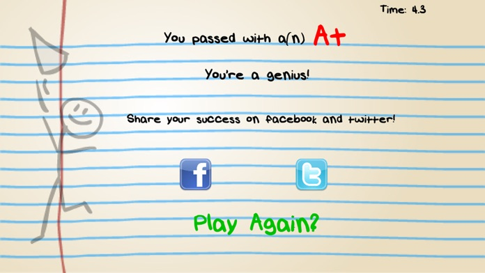 Will Not Pass: Impossible Quiz, Moron IQ and Idiot Brain Multiplayer Test Free Screenshot