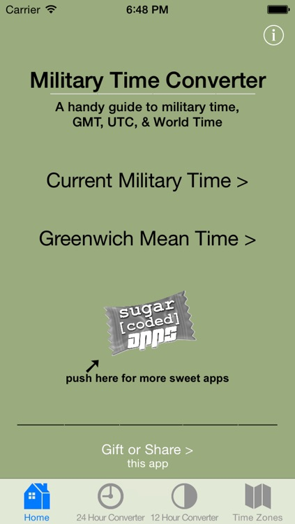 Military Time Converter screenshot-0
