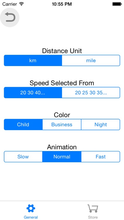 FindSpeed distance-time-speed with animation