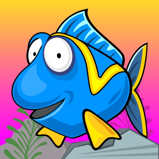 Blue Fish Finding A Way Home iOS App