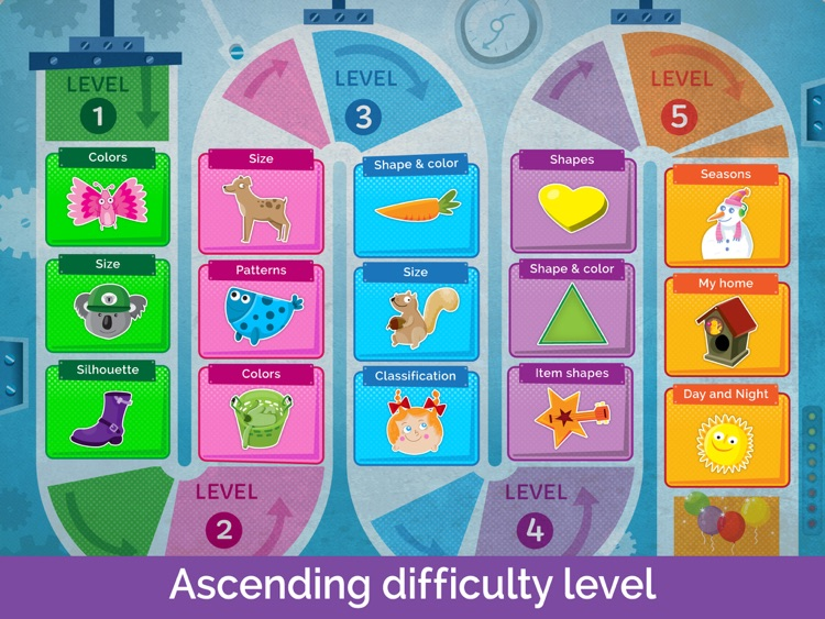 Shapes & Colors Games: Toddlers Kids Games Free